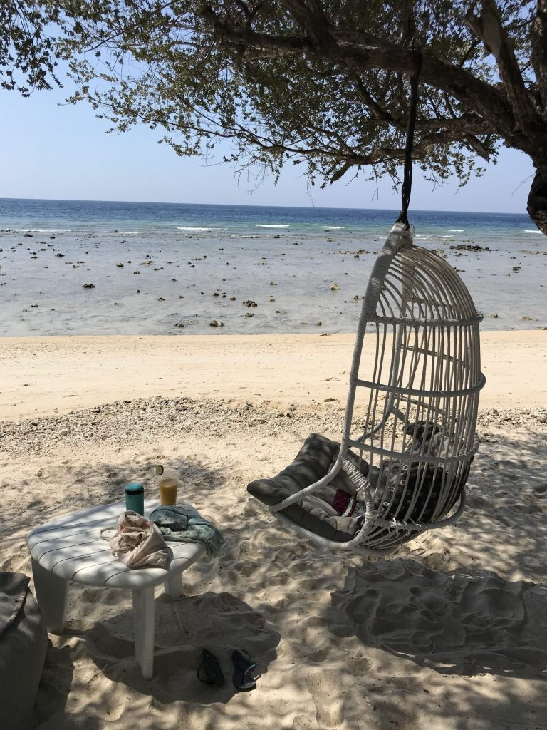 Chilling in Gili T
